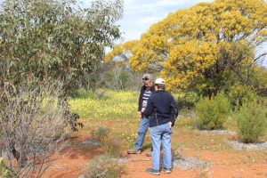 bev-lesley-geocaching-at-coalseam-3-aug-16-small